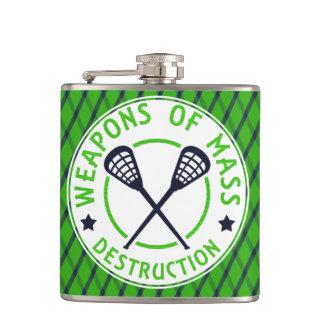 Lacrosse Weapons of Destruction Flask