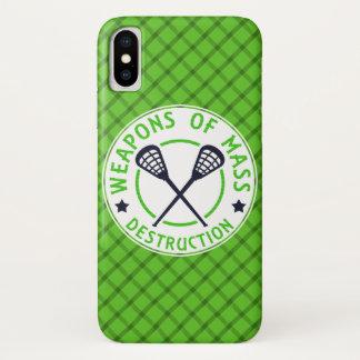 Lacrosse Weapons of Destruction Phone Case
