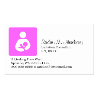 Lactation Consultant Business Card