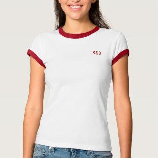 Ladies 850 'Ringer' T-Shirt