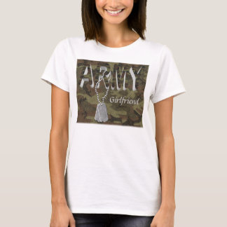 Ladies Army Camo Basic T-Shirt