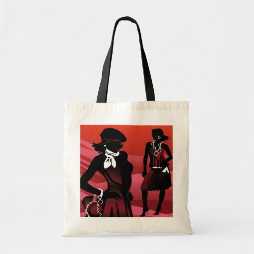 Ladies Fashion Budget Tote Canvas Bags