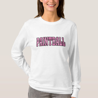 ladies fitted pink camo paintball hoodie