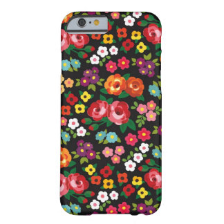 Ladies Floral Flowers Stylish and Colorful Pattern Barely There iPhone 6 Case