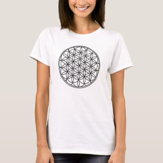 Ladies Flower of Life T-shirt