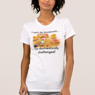 ladies humor tee shirt housework