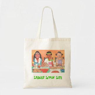 Ladies Lovin Life Tote Bag
