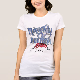 Ladies Naughty Norman Fan Shirt