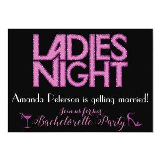 Ladies Night invitation design