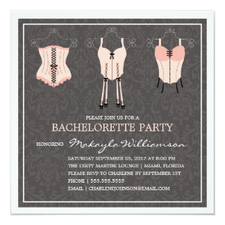 LADIES NIGHT LINGERIE   BACHELORETTE PARTY INVITE