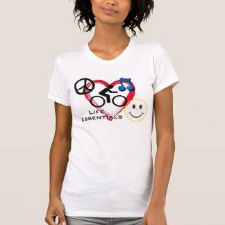 """Ladies' Scoop neck T-shirt, """"Life Essentials"""""""