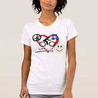"Ladies' Scoop neck T-shirt, ""Life Essentials"" T-shirts"