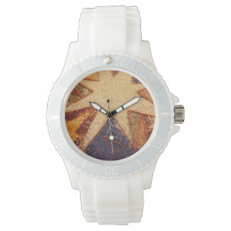 Ladies Sport Watch Italian Flower Festival Design