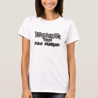 Ladies Thugin White T-Shirt