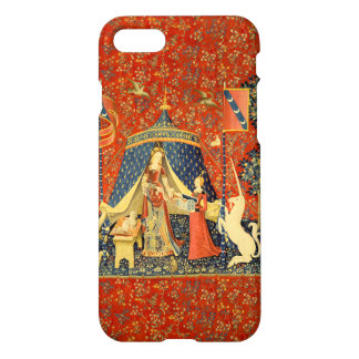 Lady and the Unicorn Mediaeval Tapestry Art iPhone 8/7 Case