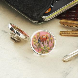 Lady Bug Lapel Pin