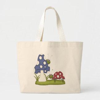 Lady Bugs Life Jumbo Tote Bag