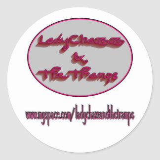 Lady Chazz and The Tramps Sticker