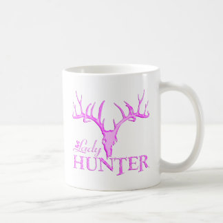 LADY DEER HUNTER COFFEE MUG
