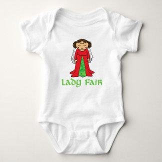 Lady Fair Maid Marian t shirt baby and kids