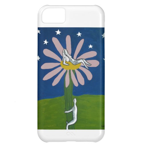 Lady Flower iPhone 5C Case