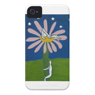 Lady Flower iPhone 4 Case