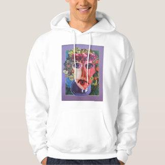 Lady Flower Power Helping Homeless People Sweatshirts