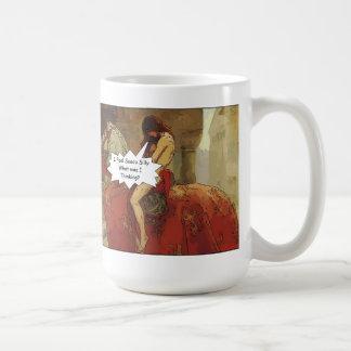 Lady Godiva Cartoon Mug