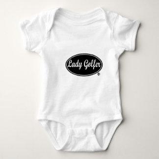 Lady Golfer Infant Creeper