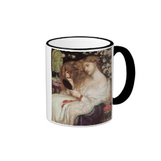Lady Lilith by Rossetti, Vintage Victorian Portait Mug