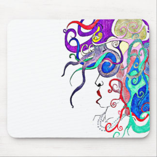 lady of life mouse pad