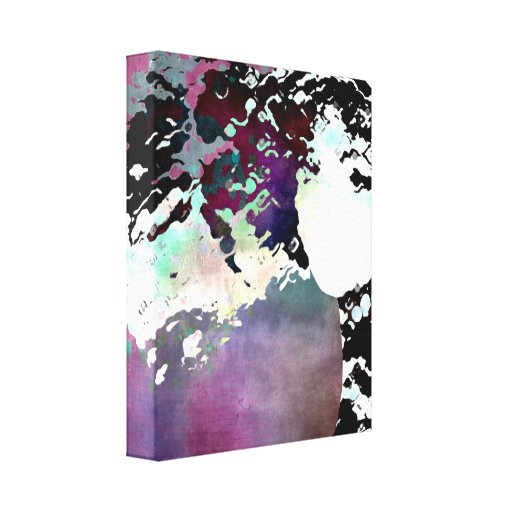 """LADY-SILEX-3"" on canvas Gallery Wrap Canvas"