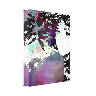 """LADY-SILEX-3"" on canvas Canvas Print"