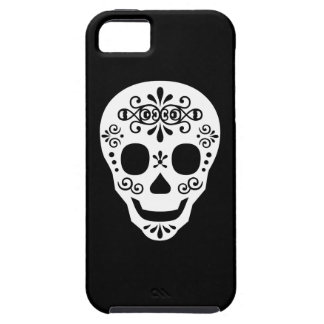 Lady Sugar Skull by Leslie Peppers iPhone 5 Covers