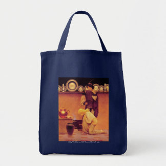 Lady Violetta and the Knave Tote Bag
