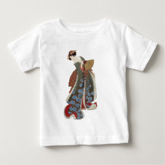 Lady with a Fan Baby T-Shirt