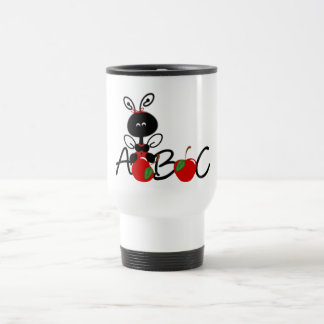 Ladybug Apples and ABC Travel Mug
