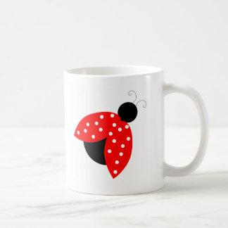 Ladybug Coffee Mug Cup