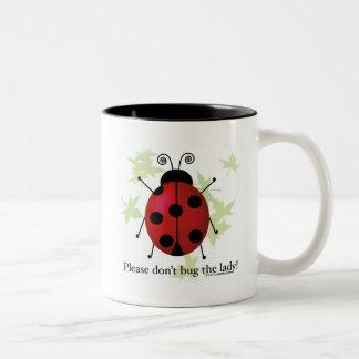 Ladybug Two-Tone Coffee Mug