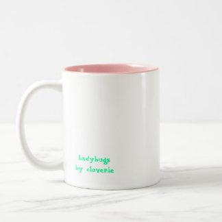 Ladybugs Two-Tone Coffee Mug