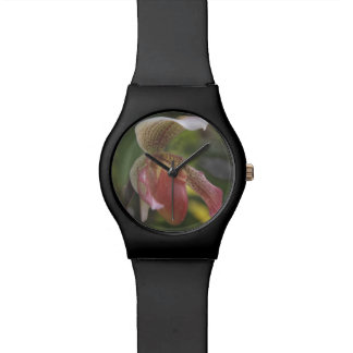 Lady's Slipper Orchid Watch