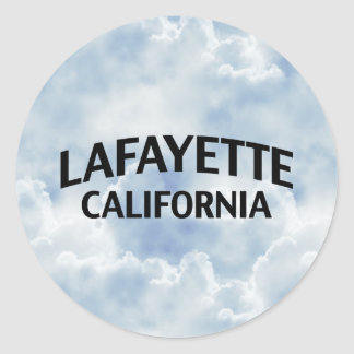 Lafayette California Classic Round Sticker