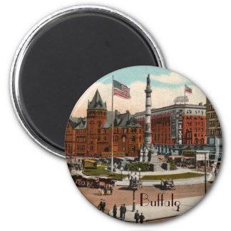 Lafayette Square Vintage Buffalo Magnet