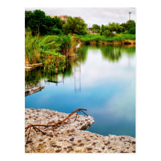Lago Ex Snia Viscosa Postcard