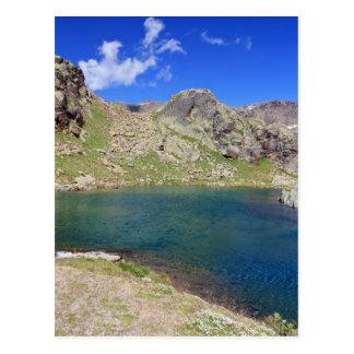 Lago Nero - Black lake, Italy Postcard