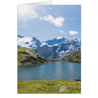 Lago Nero, Trentino, Italy Card