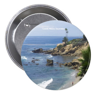 Laguna Beach 7.5 Cm Round Badge