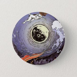 laika 6 cm round badge