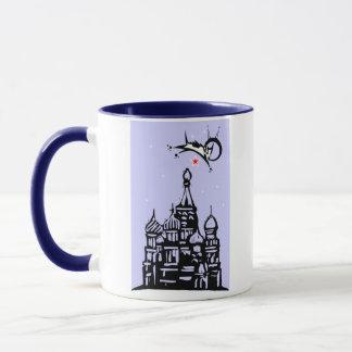 Laika over Red Square Mug