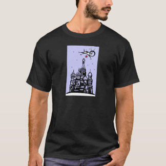 Laika over Red Square T-Shirt